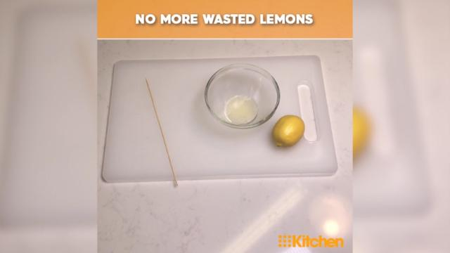 The lemon juice hack that will revolutionise your squeezing