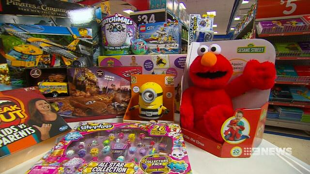 Thousands of toys on sale in Adelaide