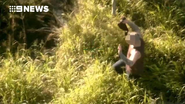 'Gunman' steals car during test drive then flees into bushland