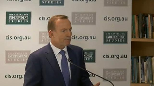 Abbott hits nuclear button again over Turnbull's 'defence strategy'