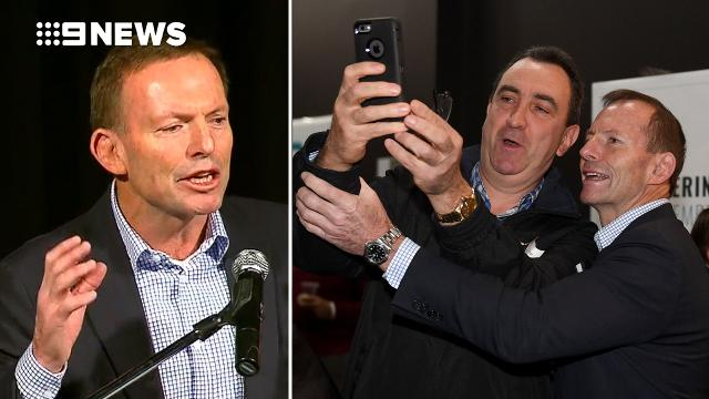Tony Abbott launches latest criticism of Liberal leadership