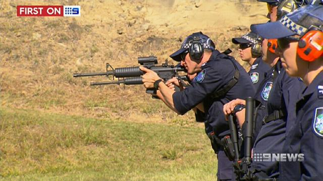 Queensland police receive over 200 military grade assault rifles