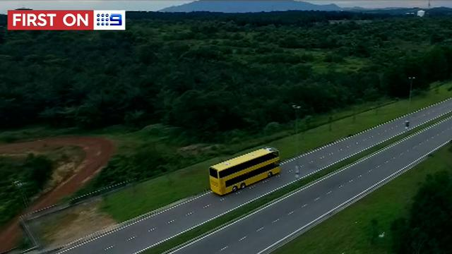 First look at Sydney's new B-Line double-decker buses