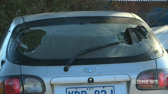 Shots fired into Canberra home during drive-by shooting