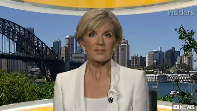 Julie Bishop insists US refugee deal will go ahead, despite officials leaving Nauru early