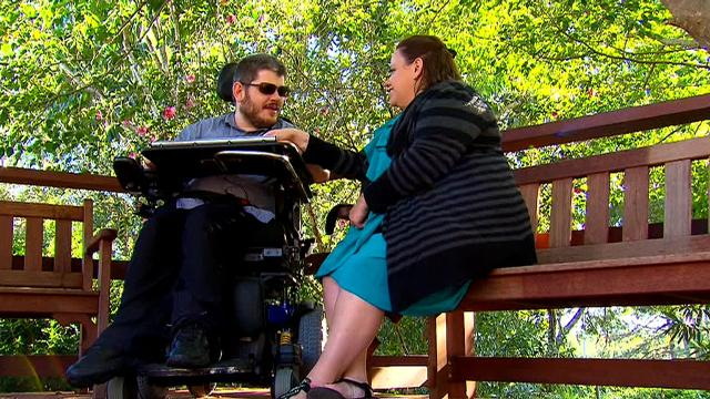 'I never thought I'd find somebody like her': How gaining independence led a young man to love