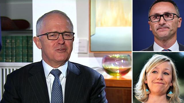 Greens in turmoil: Malcolm Turnbull