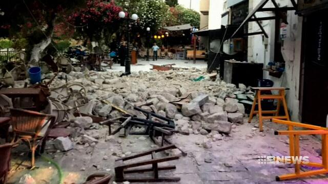 Powerful earthquake rocks Turkey and Greece