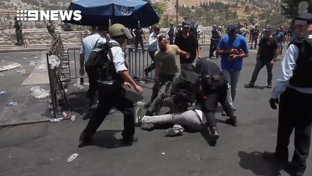 Six killed in bloody spate of Israeli-Palestinian violence