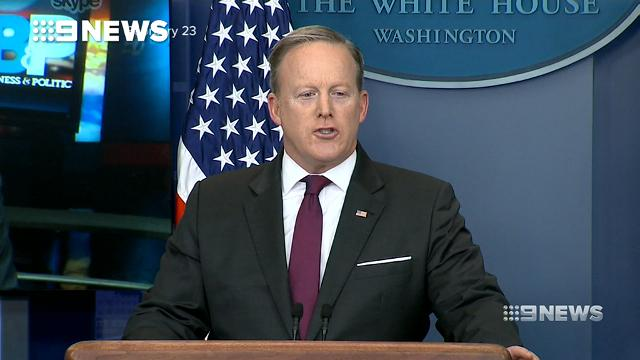 Sean Spicer show ends in protest over hire