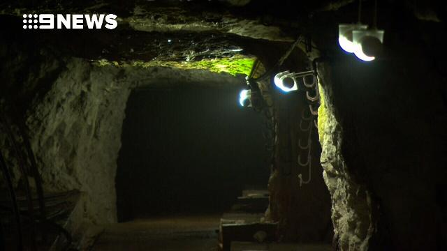 Inside the labyrinth of tunnels beneath the Rock of Gibraltar