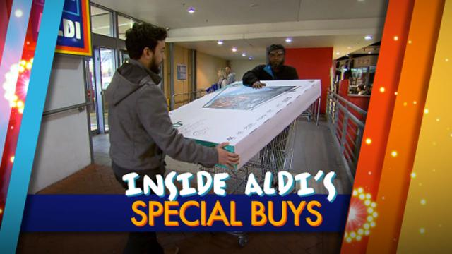 Inside Aldi's special buys