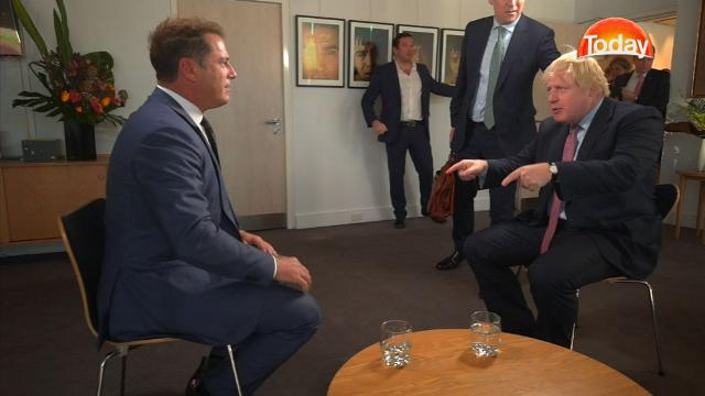 TODAY Exclusive: Karl meets Boris Johnson