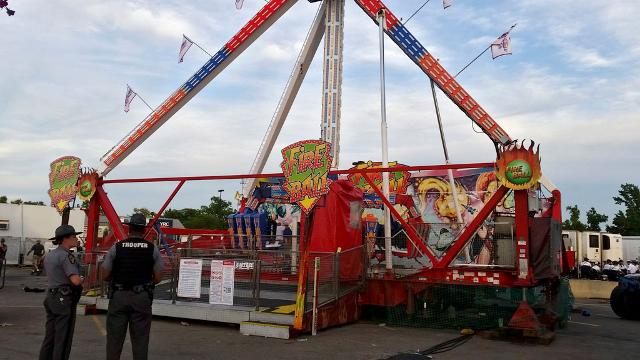 One dead, multiple injuries after fair ride malfunctions