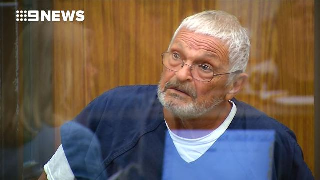 Watch a frail Nick Philippoussis front court over child molestation charges