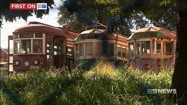 Dozens of retired trams could receive a cafe makeover