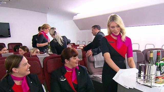 Inside Qantas' Sydney 'boot camp'