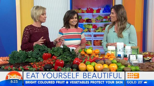 TV dietitian reveals best colour to eat for beautiful skin
