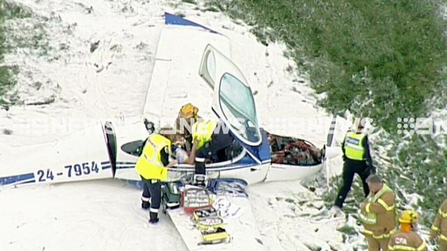Trainee pilot and instructor injured in crash