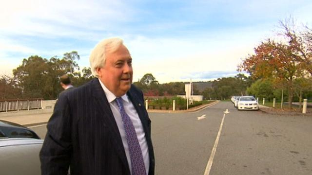 Liquidators looking to recovers millions of dollars in taxpayer's cash from Clive Palmer