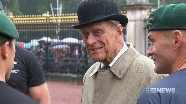 Prince Philip Gets a Shiny New Coin for His Retirement