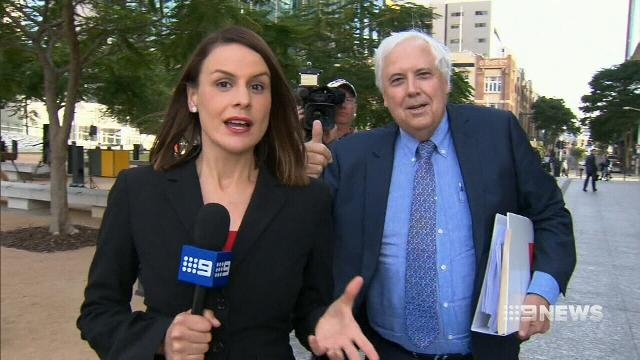 'I'm not going anywhere': Clive Palmer fights bid to freeze his assets