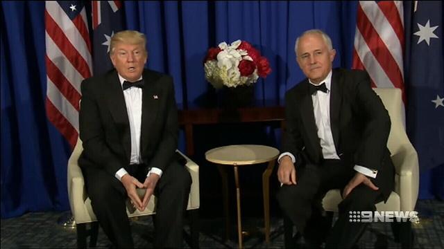 Trump dials British, Australian PMs on North Korean crisis