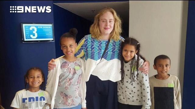 Adele surprises children affected by Grenfell Tower fire with big day out
