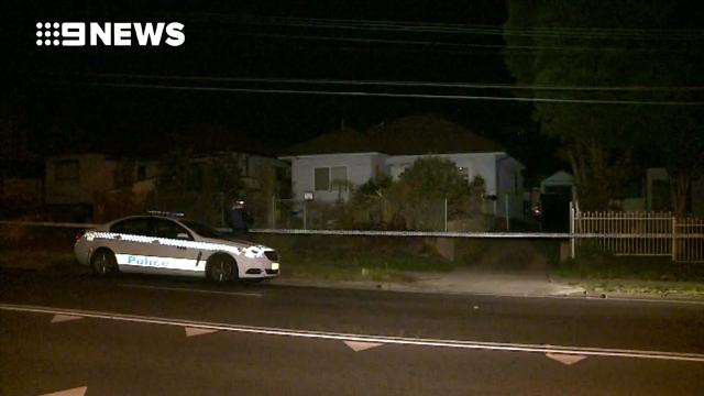 9RAW: Father and son stabbed in Sydney's west