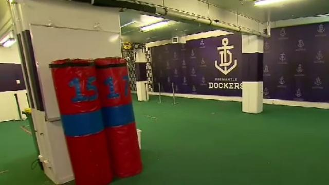 Behind the scenes at Domain Stadium with Matthew Pavlich
