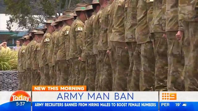 Australian Defence Force affirms men are not excluded from any roles