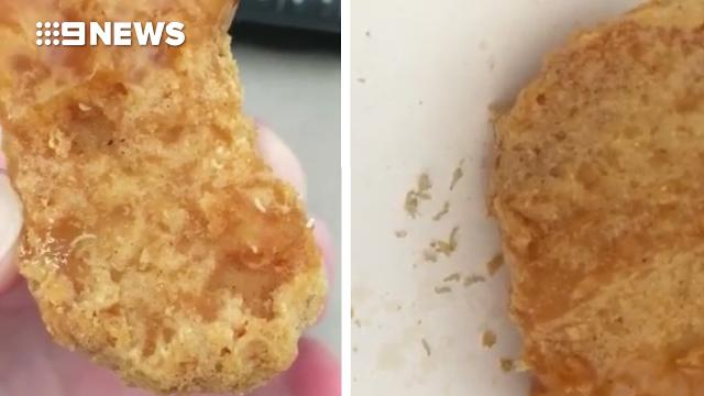 Now there's maggots in Macca's chicken nuggets
