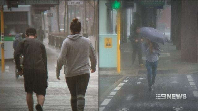 Perth faces severe weather and flooding