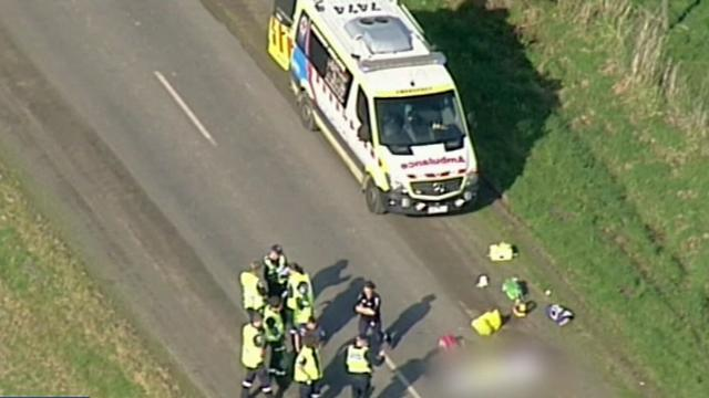 Racing cyclist dies after colliding with four-wheel-drive