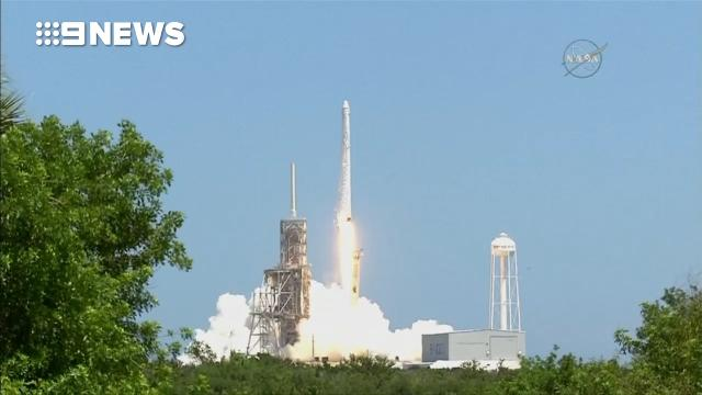 SpaceX launches ice cream into space