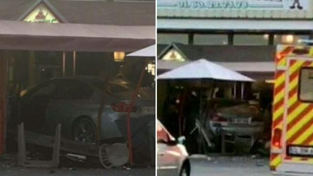 French teen dies after car ploughs into pizzeria