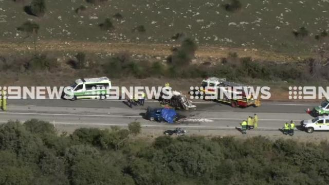 Three killed in horror crash north of Perth