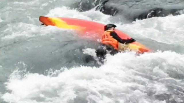 'Nobody dies on my birthday': Stranger saves kayaker's life