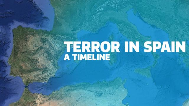 VISUALISATION: What we know about Spain terror attacks