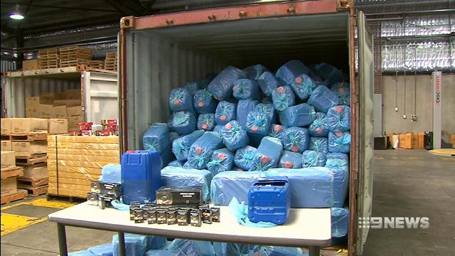14 million illegally imported cigarettes worth $9 million seized