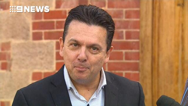 Nick Xenophon confirms he is a dual citizen