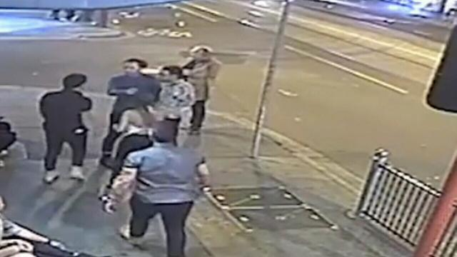 CCTV released of sickening one-punch attack