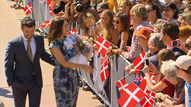 Danish Crown Prince Frederik turned away from Brisbane bar