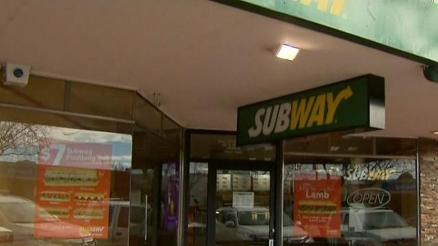 Robber in burqa allegedly holds up takeaway restaurant