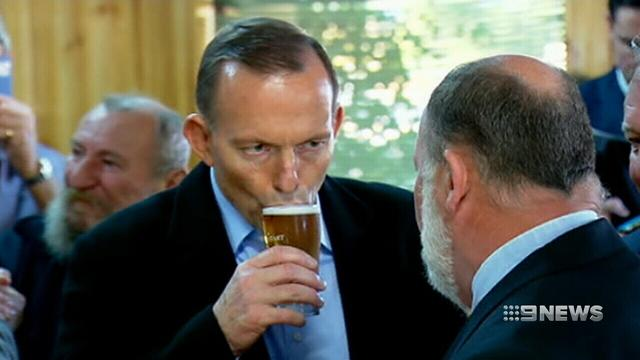 Tony Abbott admits he missed crucial vote because he passed out