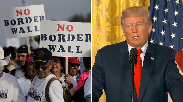9RAW: 'One way or another Mexico is paying for the wall': Trump