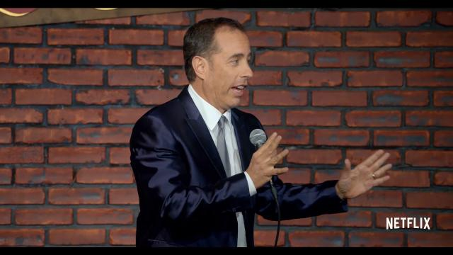 Get your first look at Jerry Seinfeld's Netflix stand-up debut