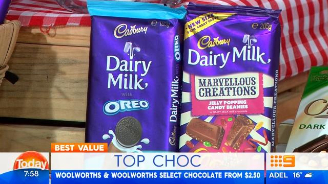Lisa Wilkinson loves this chocolate, and not just because it tastes delicious
