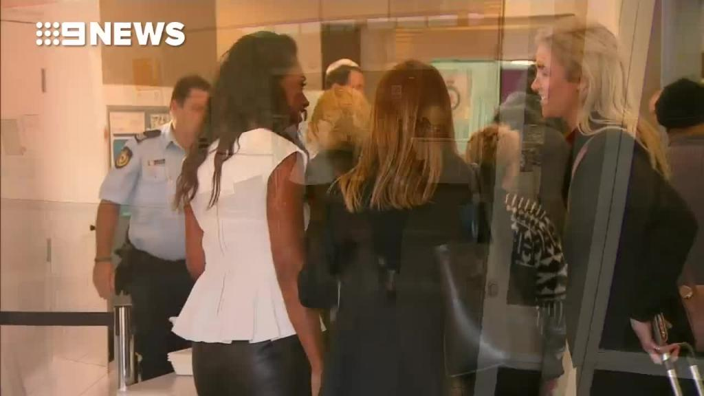 Bodyguard star Paulini in Sydney court for fraud charges