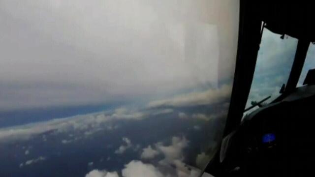 Hurricane Hunter flies through Hurricane Irma